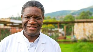"""L'entrevista que """"Solidaris"""" va fer a Denis Mukwege, Premi Nobel de la Pau 2018"""