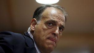 Javier Tebas, en una imatge d'arxiu (Reuters)