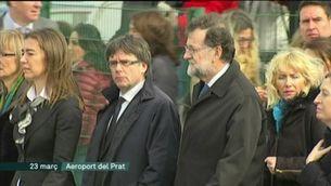 Rajoy i Puigdemont, primera trobada formal