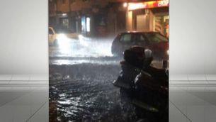 L'Hospitalet de Llobregat també va patir alguna inundació