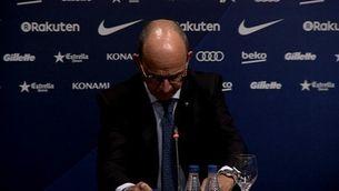 Cardoner defensa que el Barça està actuant bé, l'oposició no pensa el mateix