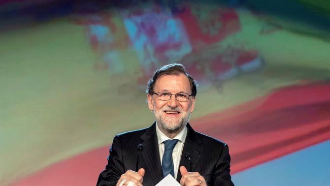 Mariano Rajoy a la convenció del PP a Sevilla (EFE)