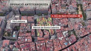 Operació dels Mossos a Barcelona i Igualada per desarticular un comando jihadista