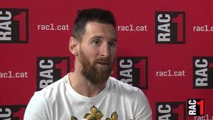Leo Messi confessa que es va plantejar marxar