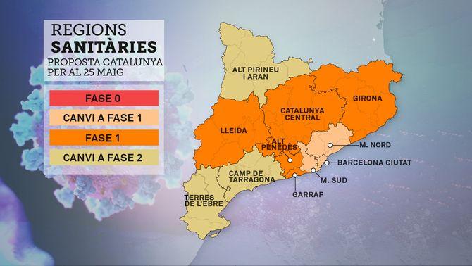 Generalitat i Ajuntament proposen que tota l'àrea de Barcelona passi a fase 1 dilluns