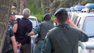 Detenció per part de la Guàrdia Civil d'un dels activistes CDR, el 23 de setembre
