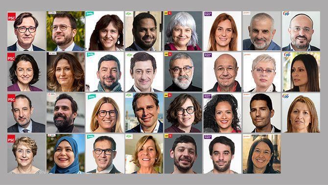Qui és qui en un nou Parlament amb més diputades que mai i dels més renovats