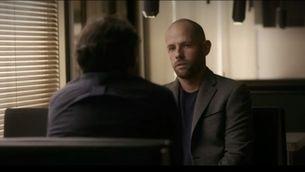 un moment de l'entrevista de Jordi Évole al militar David Saavedra