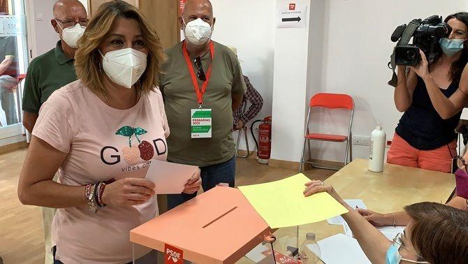 Susana Díaz ha aconseguit el suport del 38% dels militants socialistes andalusos