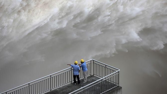 La presa xinesa de les Tres Gorges, al límit de la seva capacitat