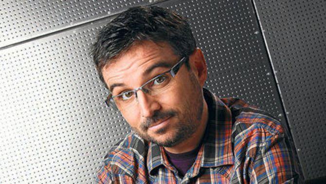 """Jordi Évole, periodista, director i presentador de """"Salvados"""" (La Sexta)."""
