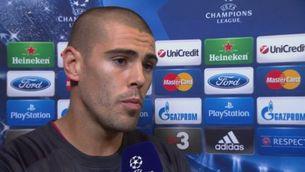 Valdés, il·lusionat amb la Champions
