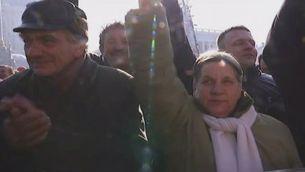 Què diu la gent de la plaça de la independència de Kiev