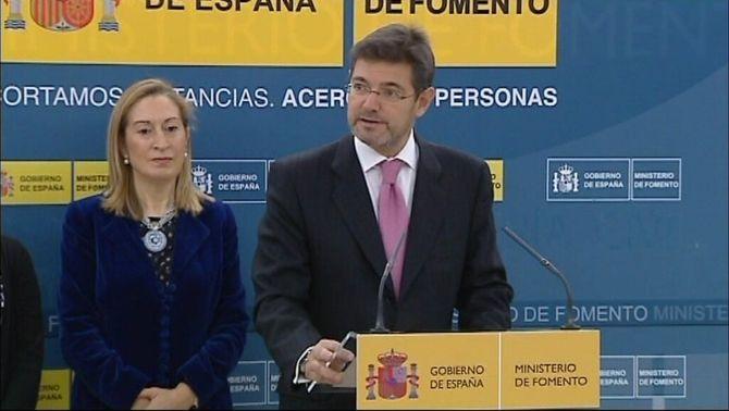 Rafael Catalá Polo era fins ara secretari d'Estat d'Infraestructures.