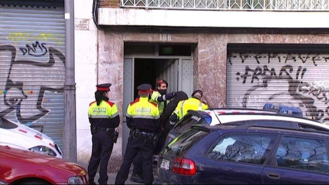 """Onze detinguts en una operació policial contra el """"terrorisme anarquista"""""""