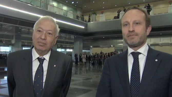 El ministre d'Exteriors danès matisa, a instàncies de García-Margallo, la resolució aprovada pel Parlament de Dinamarca