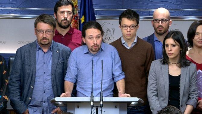 Podem consultarà a les bases entre el 14 i el 16 d'abril si volen un govern amb Rivera i Sánchez