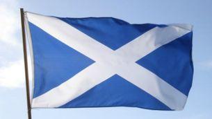 Bandera d'Escòcia