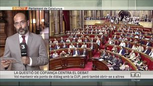 """Puigdemont demana a la CUP """"no dinamitar els ponts"""""""