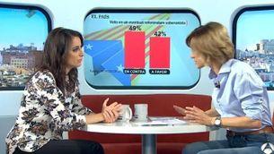 """Andrea Levy: """"El govern d'Espanya farà, des de la proporcionalitat, tot el que calgui"""""""