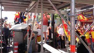 Les dificultats per treballar per als periodistes el 8-O a Barcelona