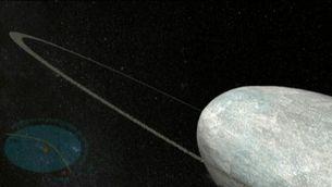 Descobert l'anell en un planeta nan del sistema solar