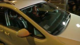 Raül Romeva, Carles Mundó, Jordi Turull i Josep Rull surten de la presó d'Estremera