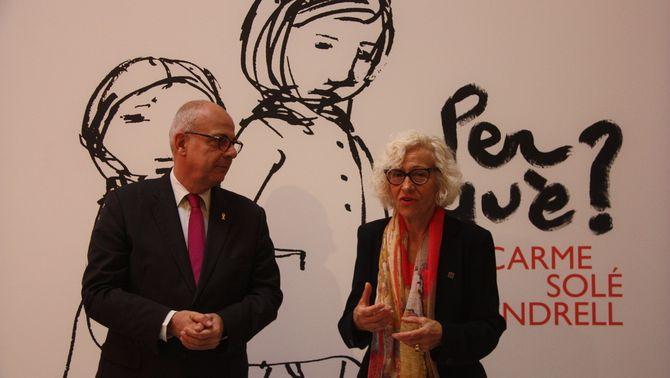 Palau Robert proposa un recorregut pels 50 anys de les il·lustracions de Carme Solé Vendrell