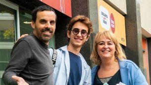 Roc Massaguer, Joan Gravé i Mariola Dinarès