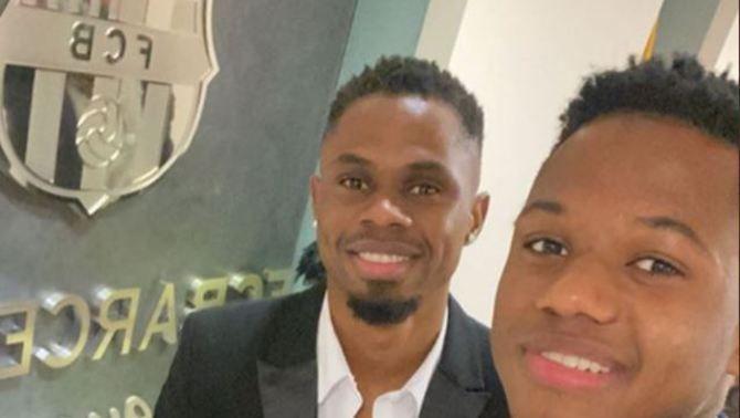 Braima, el germà d'Ansu Fati fitxa pel Santfeliuenc