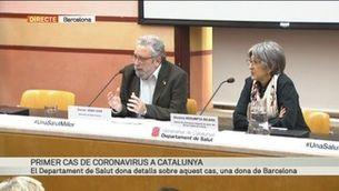 """Joan Guix: """"Treballem per contenir el coronavirus"""""""
