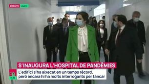 Planta baixa - S'inaugura l'hospital de pandèmies de Madrid