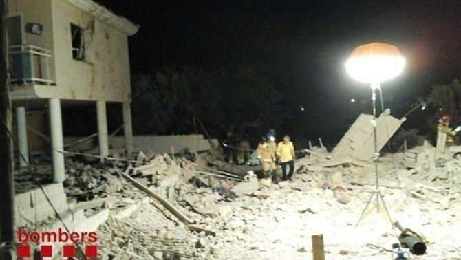 17A: els Tedax van trobar una autèntica fàbrica d'explosius entre la runa d'Alcanar