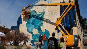 """Monistrol de Calders fa un museu """"a l'aire lliure"""" omplint les parets del poble d'art urbà"""