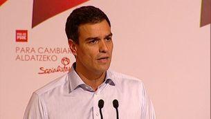 Pedro Sánchez, secretari general del PSOE.