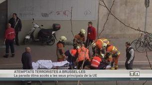 Especial informatiu sobre els atemptats a Brussel·les