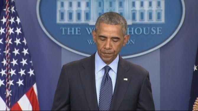 """Obama sobre el tiroteig a Orlando: """"Ha estat un acte de terror i odi"""""""