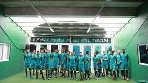 El Chapecoense presenta el nou equip