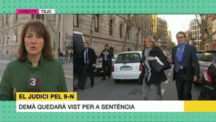 Artur Mas i Irene Rigau expliquen les seves impressions