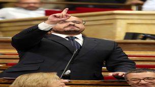 """Alejandro Fernández: """"No protestin, si cal defensarem la llibertat fins que es congeli l'infern"""""""