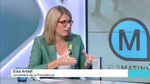 """Elsa Artadi: """"Una cosa és pressionar i l'altra és ser violent"""""""