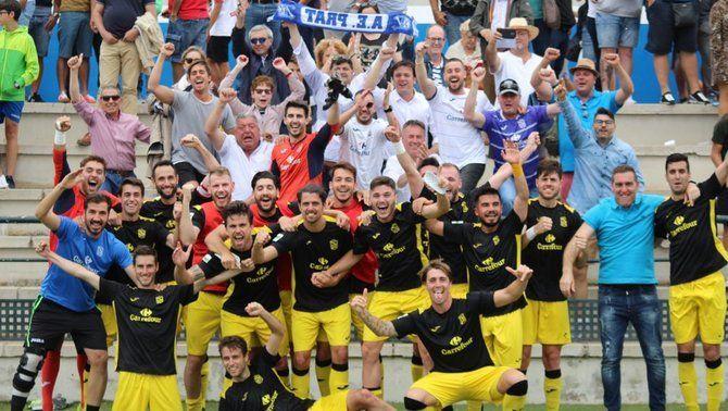 L'AE Prat guanya al camp del Tamaraceite i jugarà l'última eliminatòria d'ascens a Segona B (0-1)