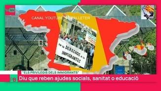 Imatge de:Vídeos que corren per la xarxa sobre suposats privilegis per a immigrants