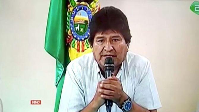 Evo Morales accepta l'oferta d'asil polític de Mèxic