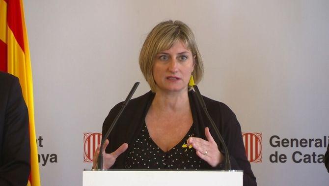 """Alba Vergés: """"No hi ha confinament dels nens a casa; poden sortir prenent precaucions"""""""