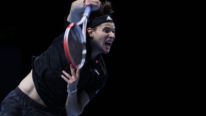 Dominic Thiem aparta Djokovic de la final (7-5, 6-7, 7-6)