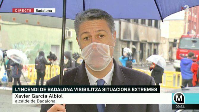 """García Albiol: """"L'enderrocament de la nau ha de començar avui"""""""
