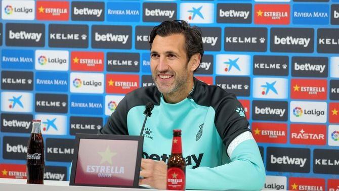"""Diego López: """"L'important és que l'Espanyol estigui a Primera, amb mi o sense mi"""""""