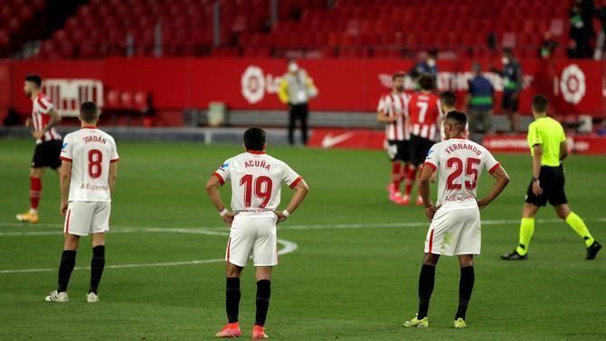 El Sevilla no aguanta la pressió i perd a casa contra l'Athletic (0-1)
