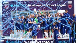 Les finalistes de la Champions, campiones de Lliga